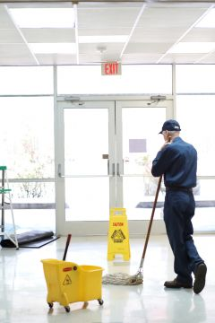 Floor cleaning in Panama, NE by CleanLinc Cleaning Services, Inc